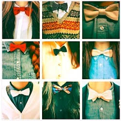im-just-me-myself-and-i:  Bow ties ♥