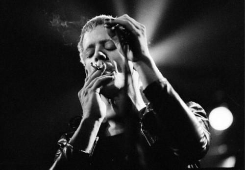 astralsilence:  Lou Reed by Jorgen Angel.