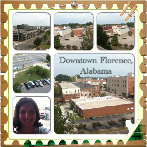Downtown Florence, Alabama #shoals #instacollage #city (Taken with Instagram)