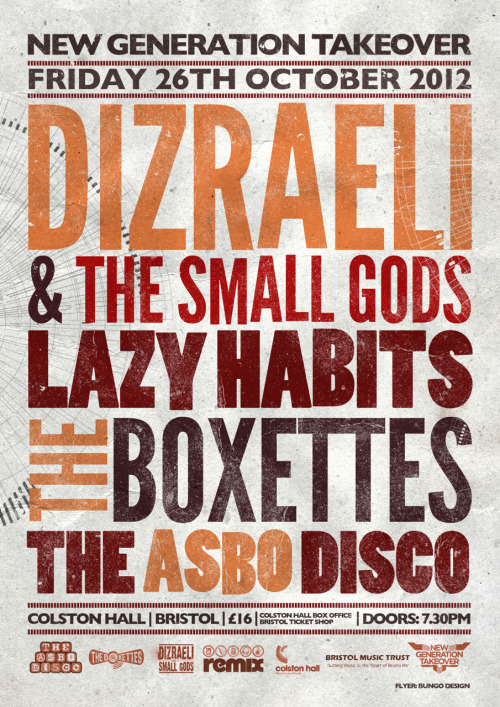 Dizraeli coming to Bristol Colston Hall in a month!