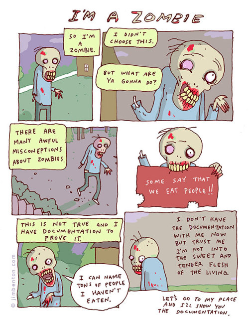 ohyeahcomics:  Via Jim Benton Comics