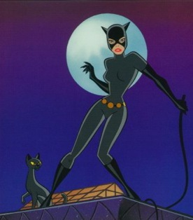 The best catwoman, from Batman, the animated series.