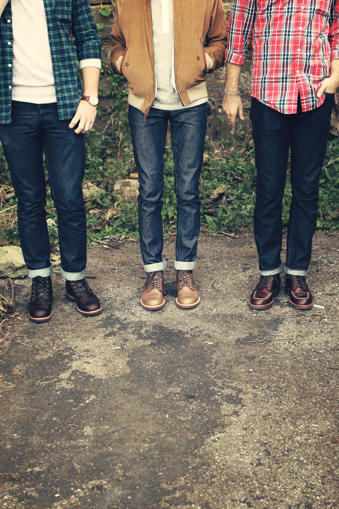 hannahpoucher:  Boot Brothers. (by Hannah Joy Poucher) From left to right— Chase, Jason, & Chad.