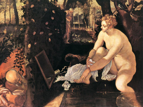 susanna and the elders, 1555