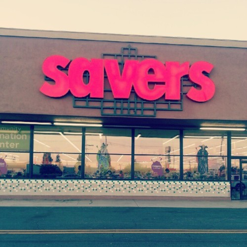 jenandthecity:  My kind of retail therapy (Taken with Instagram at Savers)