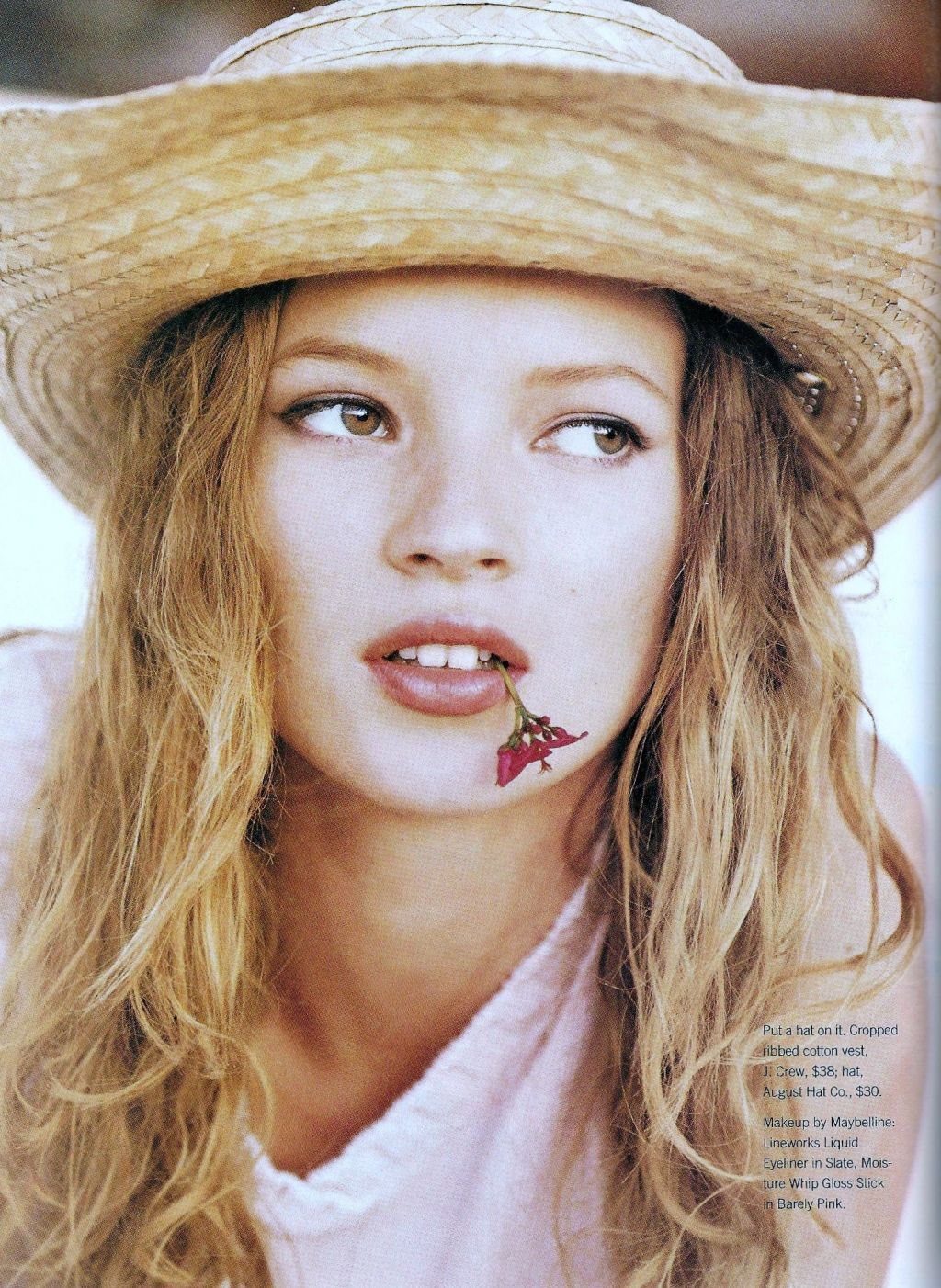 Kate Moss - Marie Claire by Patrick Demarchelier, June 1995