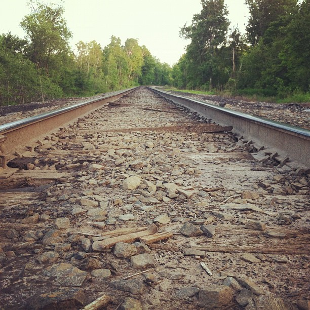 Tracks (Taken with Instagram)