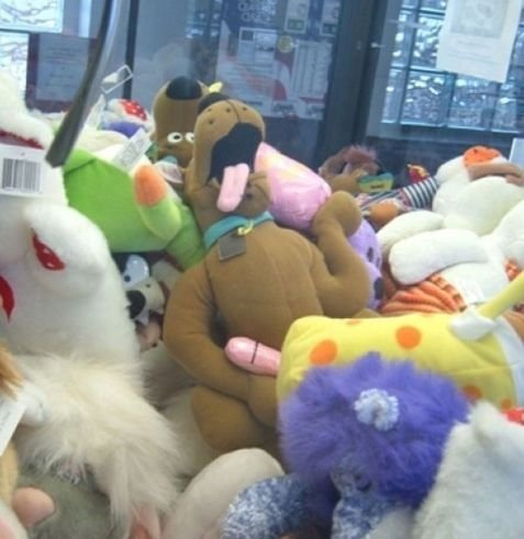 somesickhumor:  Jesus, put it away Scooby.