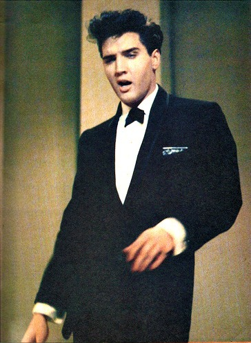 Elvis, 1960 Elvis on stage at Frank Sinatra Show