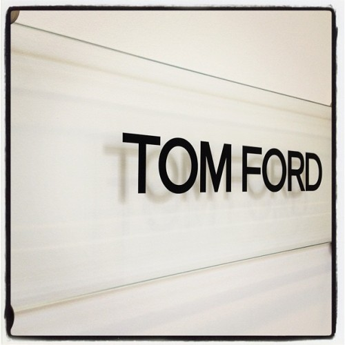 Oh yeah, this happened: #TOMFORD. #LFW  (Taken with Instagram)