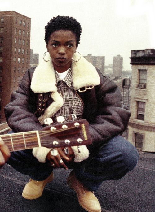 baldblackbeauties:  Lauryn Hill