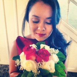 ☺🌹#wedding #bouquet #bridesmaid  (Taken with Instagram at Recreation Park Golf Course)