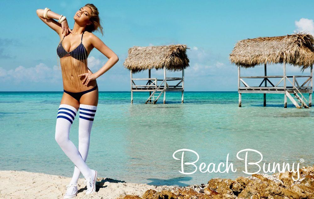 Kate Upton (for Beach Bunny, Jan 2012)