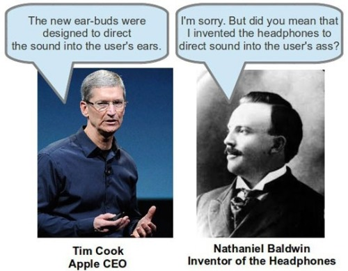 Apple's new ear-buds :D
