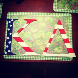gwendolynjeannine:  America letters for my little!
