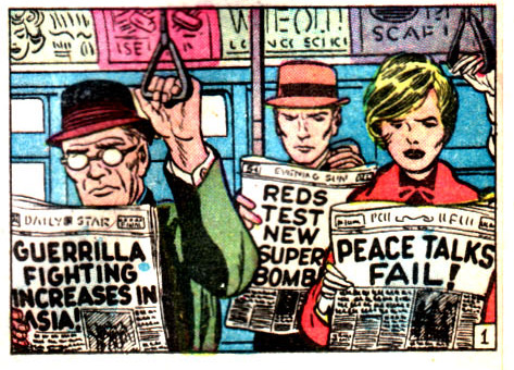 From Tales to Astonish #33. Art by Jack Kirby.