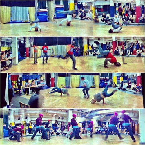 I love watching B-boy/girl cyphers…. Especially enjoy casting for characters. #itzayana #cirquedusoleil #aau #dance #theater #art #costume (Taken with Instagram at Acro Sports)