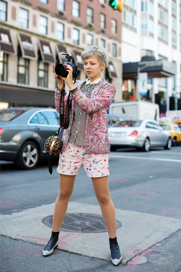 On the Street……Lina, New York (image: thesartorialist)