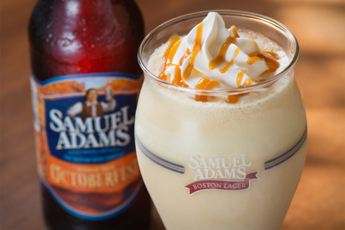Sam Adams Octoberfest Milkshakes— apparently available until November 11th. Between this and that ghost pepper burger, I think I may need to make my first trip to Red Robin sometime.