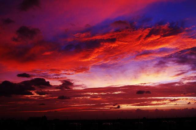 Burning cloud by Shadow-Rain on Flickr.