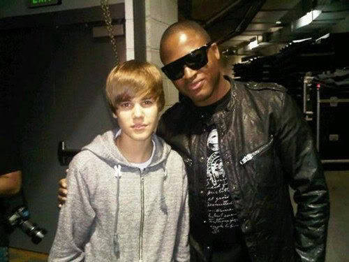 Taio Cruz and Justin Bieber
