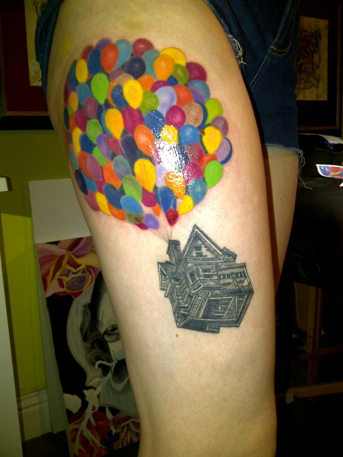 Adventure is out there artist katie tattoo boogaloo for Adventure is out there tattoo