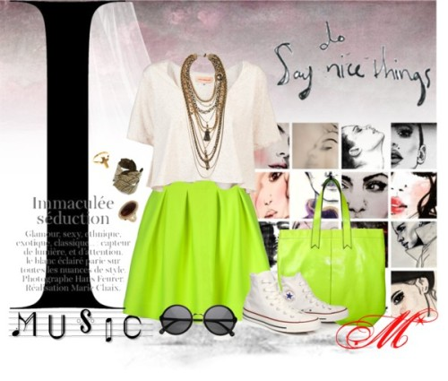 fluO* by miku89 featuring statement necklaces