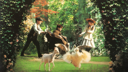 Scan of 'The Secret Garden' LaserDisc cover. Tumblr shrinks it down to like 10%. Original is 3408 x 1917 !