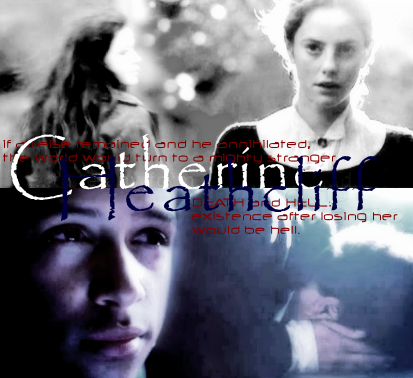 30 Day Shipping MemeDay 14: What is your favorite book pairing? Catherine and Heathcliff(Wuthering Heights)