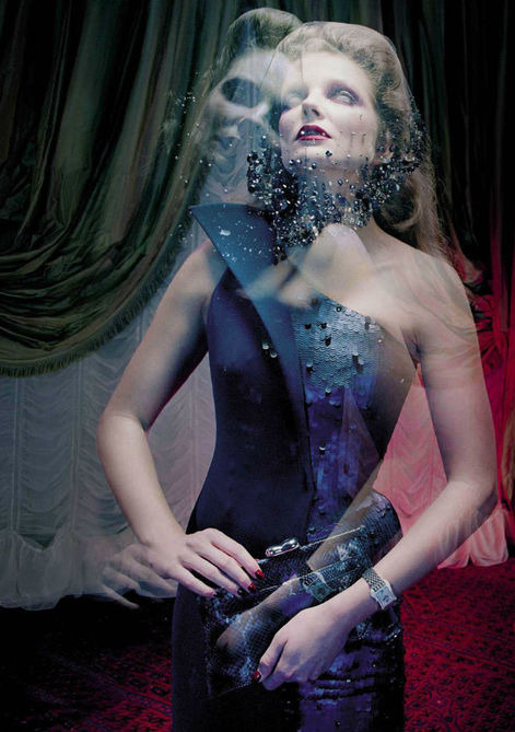 Eniko Mihalik: So Magical So Mysterious - Vogue Italia by Miles Aldridge, September/October 2012