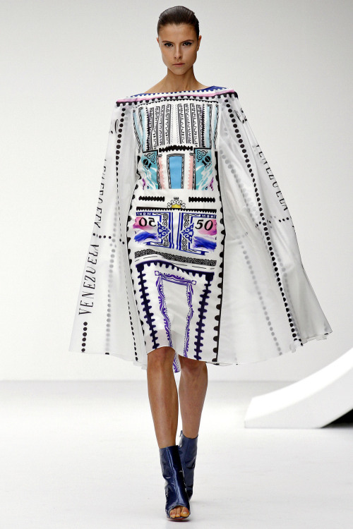 oystermag:  London Fashion Week Review: Mary Katrantzou