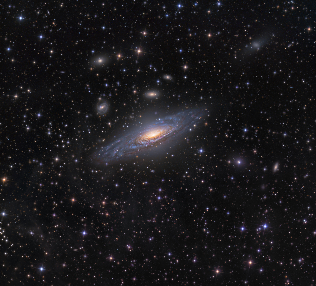 n-a-s-a:  NGC 7331 and Beyond Image Credit & Copyright: Ken Crawford