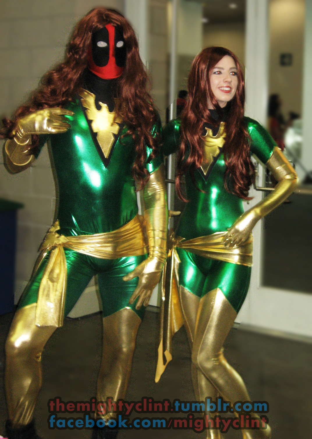STAN LEE'S COMIKAZE EXPO  DEADPOOL & JEAN GREY PHOENIX COSPLAY  Shot by Clint Silva