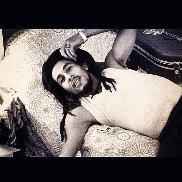 liveyourmflife:  Waiting in Vain…For Your Love. #BobMarley xo (Taken with Instagram)  Love