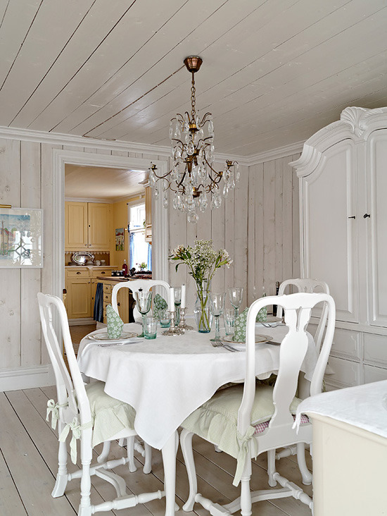 More Swedish design porn: Summer cottage/writing nest edition.