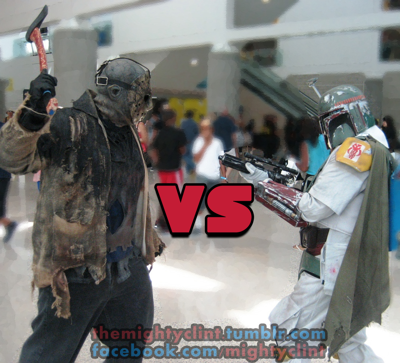 STAN LEE'S COMIKAZE EXPO  JASON VS BOBA FETT  Shot by Clint Silva