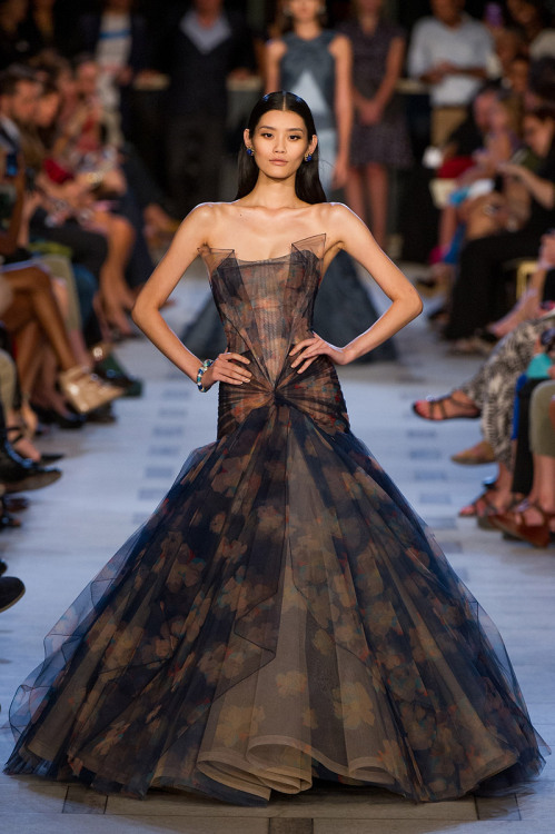 fashion-ocd:  Zac Posen Spring 2013