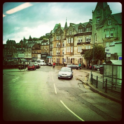 Rainy farewell to Oban (Taken with Instagram)