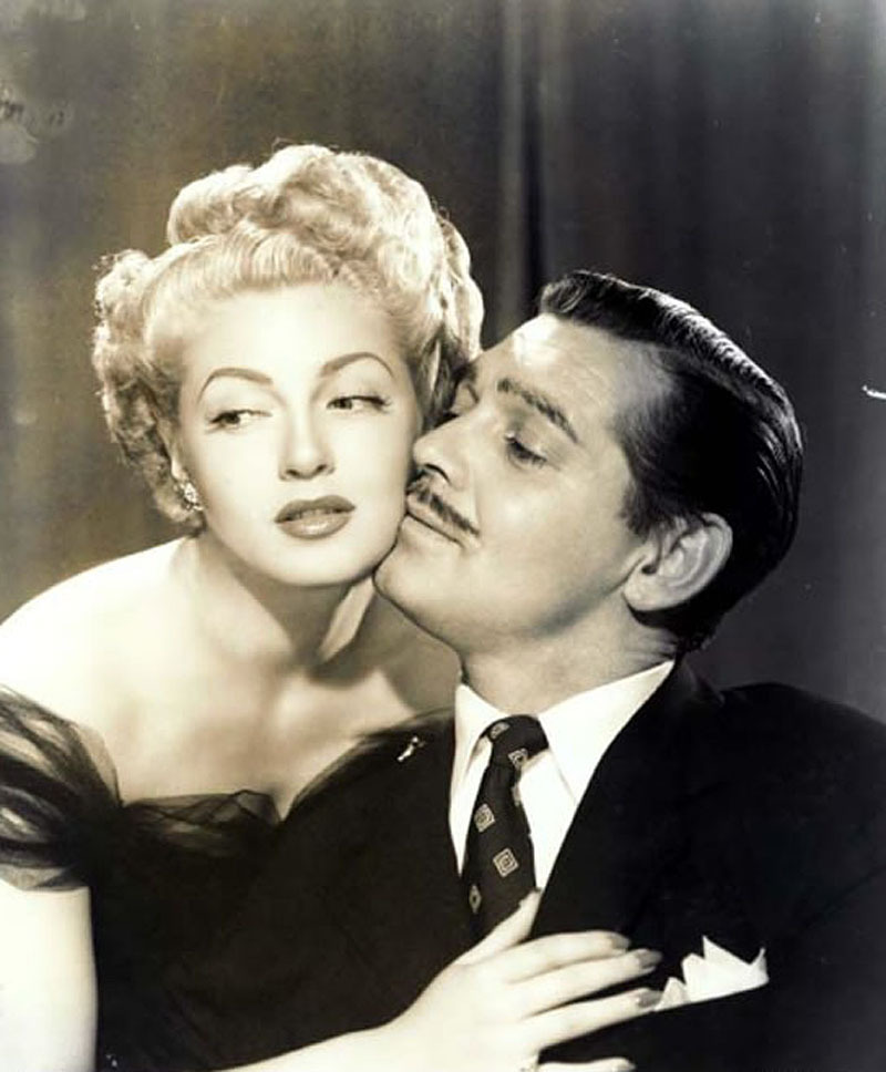 Lana Turner y Clark Gable