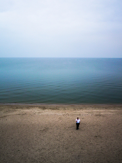 Beach / Sea / Alone on Flickr.