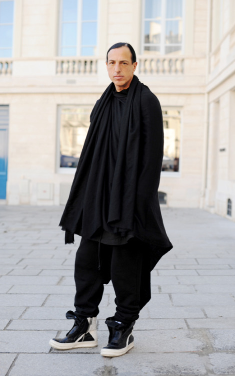 The Maestro himself, Rick Owens.