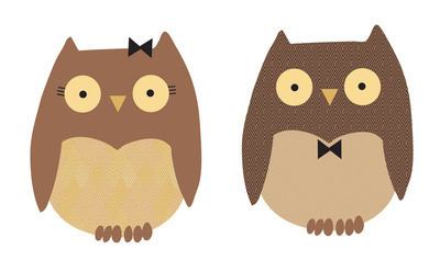 Owls Art Print by Sheena Hisiro |