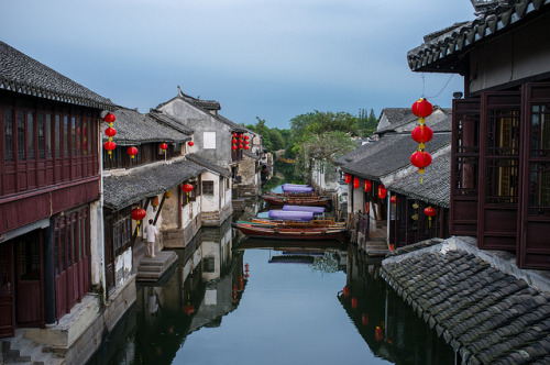 Zhouzhuang water town on Flickr.