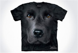 (via swissmiss | Hyper Realistic Dog Face T-Shirts)