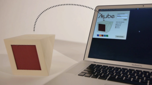 Skube - Tangible interface to @lastfm & @Spotify Radio via @creativeapps