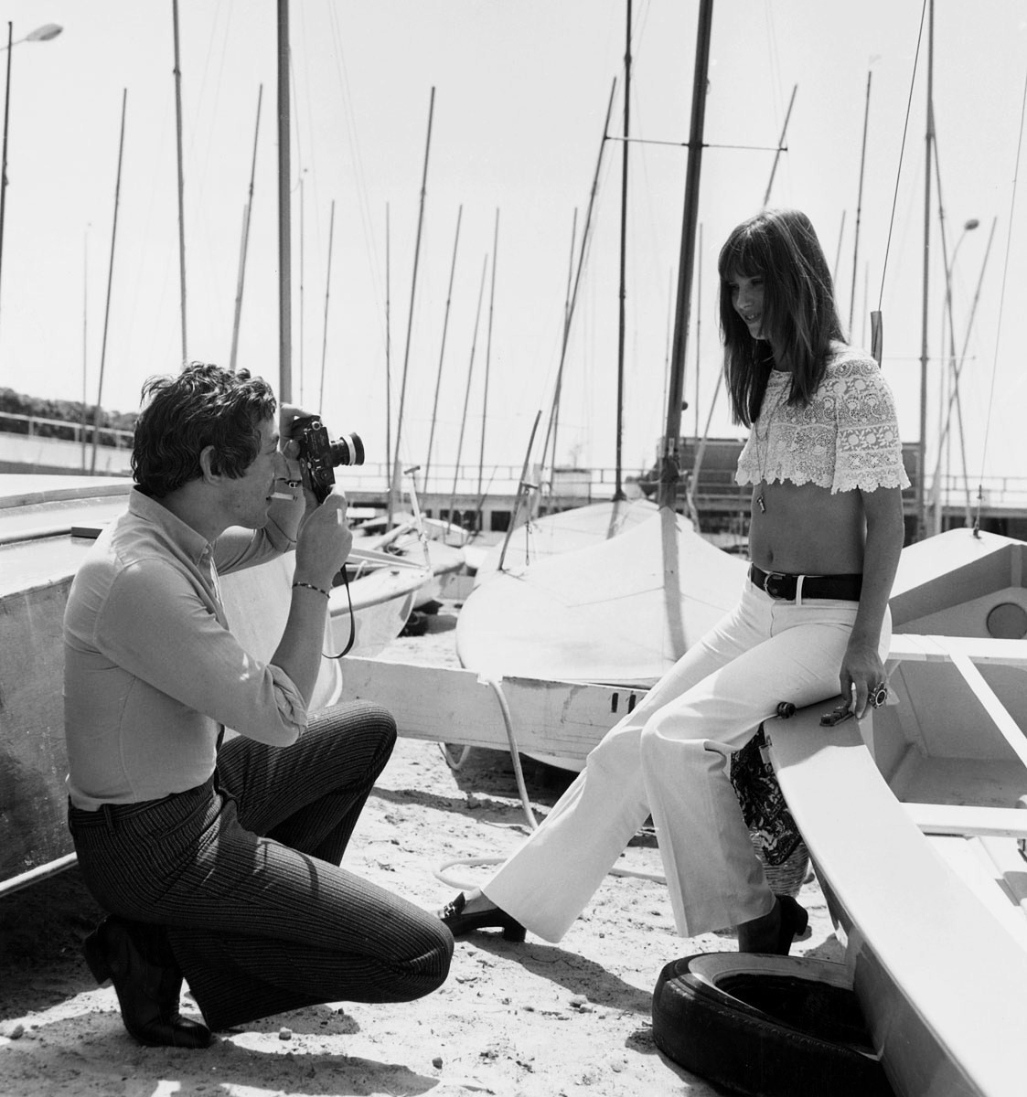 Serge and Jane in Cannes
