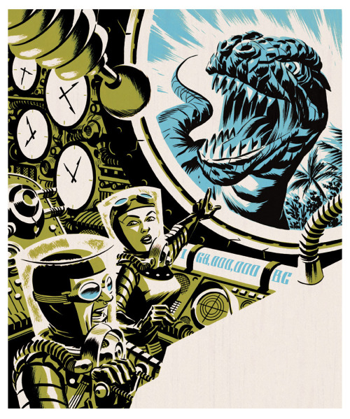 littlebunnysunshine:  michael cho, time travel