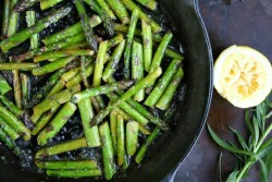 prettybalanced:  Lemon Asparagus