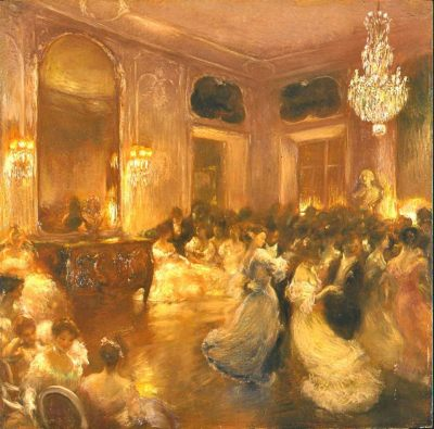 The Ball, Gaston la Touche (1854 - 1913)