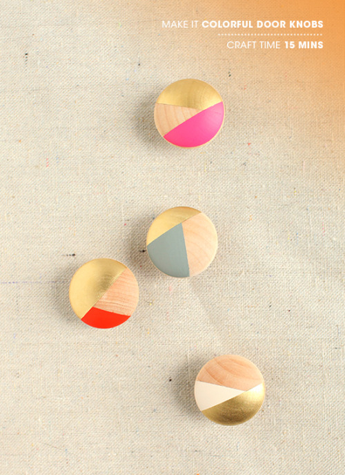 make it: colorful | via designlovefest